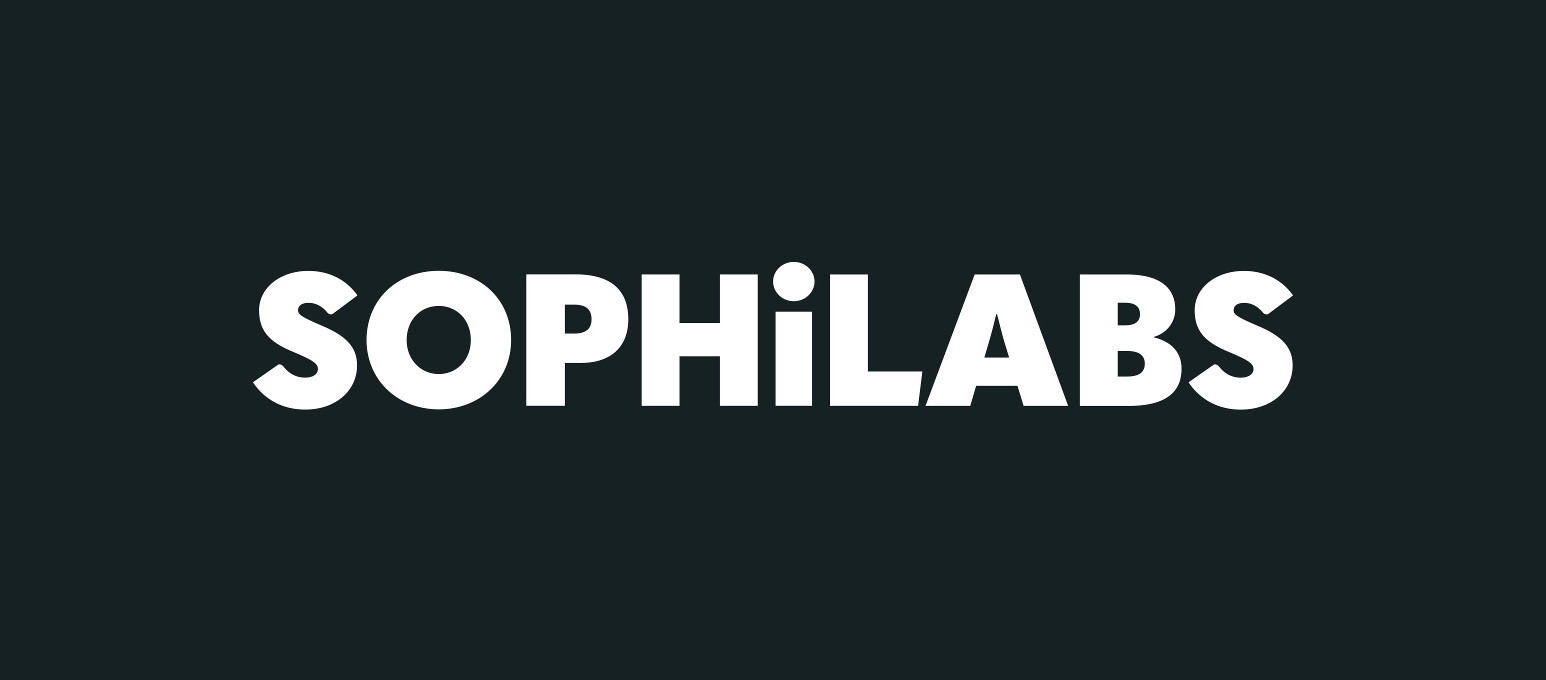sophilabs' wordmark knockout