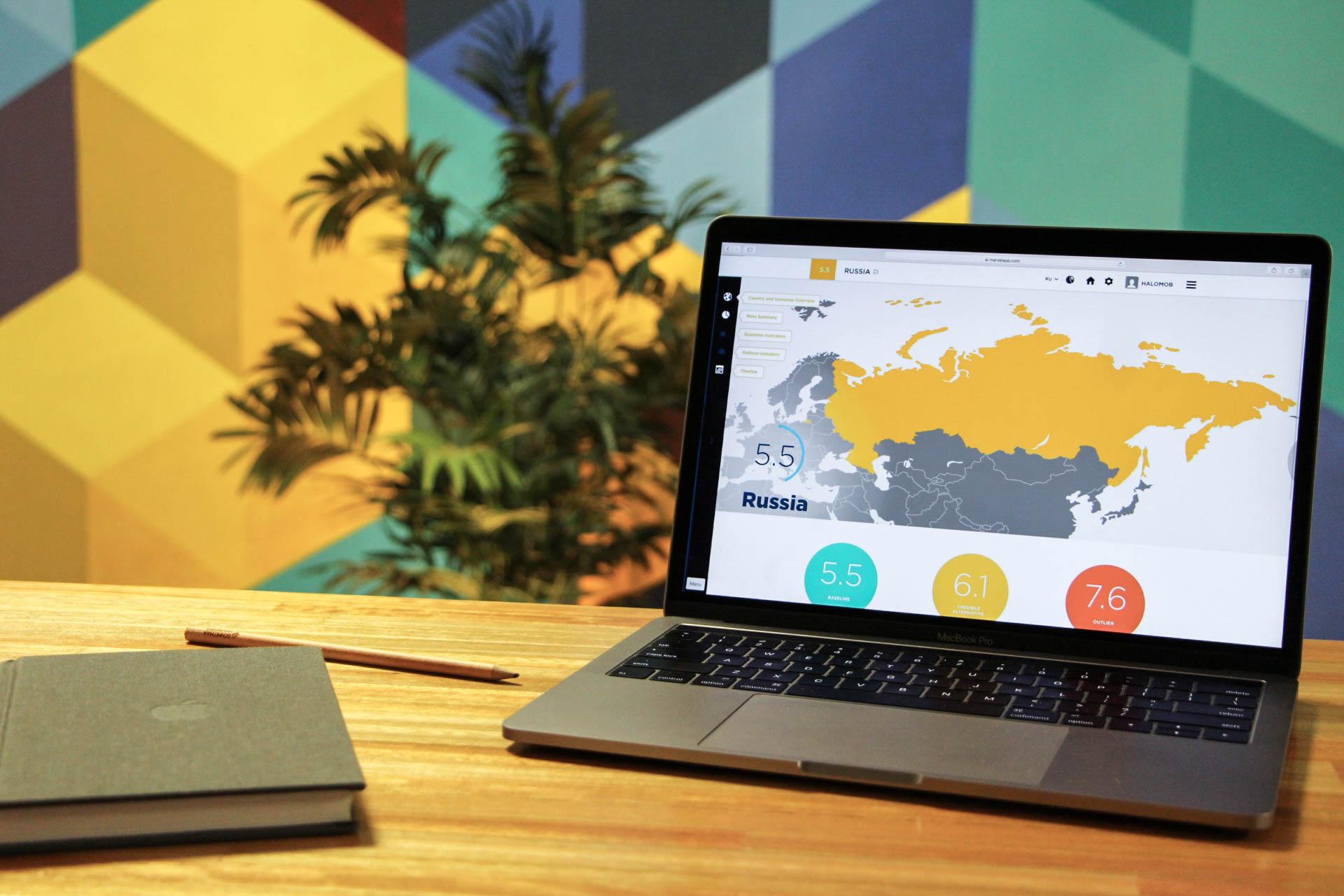 EPRE desktop screenshot